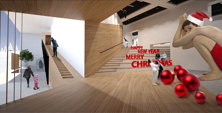 We wish you a Merry Christmas and a Creative New Year!